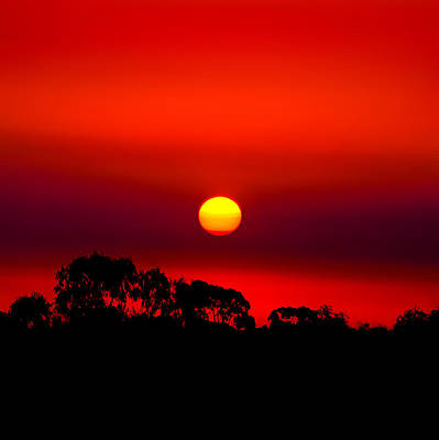 Sol Photograph - Sunset Dreaming by Az Jackson
