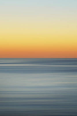 Abstract Beach Landscape Photograph - Sunset Dreams by Az Jackson