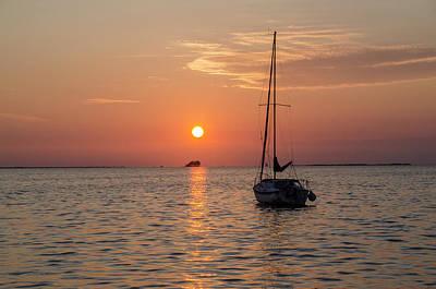 Petersburg Digital Art - Sunset Dreams - Florida by Bill Cannon