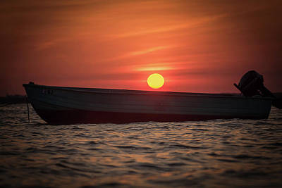 Photograph - Sunset Dreams Jersey Shore Nj by Terry DeLuco