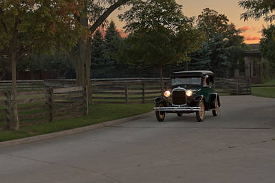 Photograph - Sunset Drive by Susan Rissi Tregoning