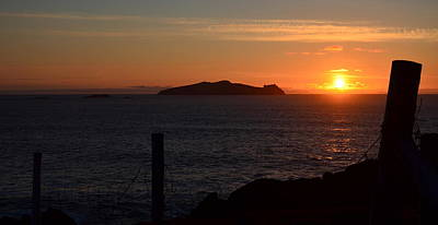 Photograph - Sunset Dunquin by Barbara Walsh