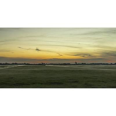 Dutch Photograph - Sunset Dutch Landscape  #dutch by Sungi Verhaar