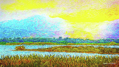 Digital Art - Sunset Ecstasy by Joel Bruce Wallach