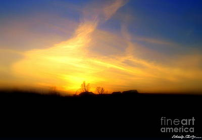 Photograph - Sunset by Elfriede Fulda