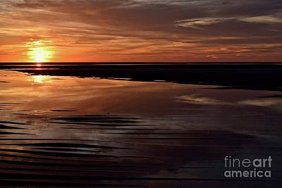 Seascape Photograph - Sunset Encounters Collection #7 by Debra Banks