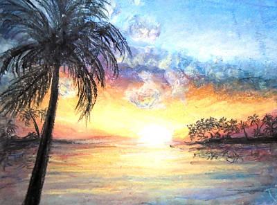 Sunset Exotics Art Print