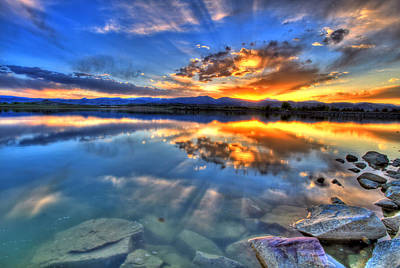Fort Collins Photograph - Sunset Explosion by Scott Mahon