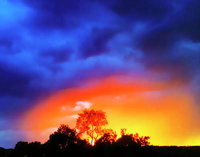 Photograph - Sunset Extraordinaire by Roger Bester