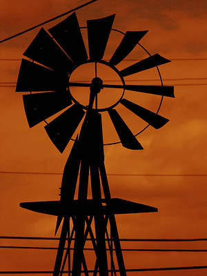 Photograph - Sunset Farmin by Kristie  Bonnewell
