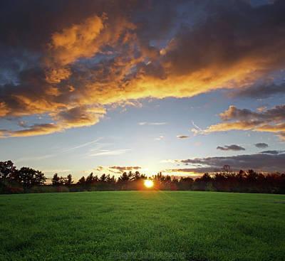 Photograph - Sunset Field by Jerry LoFaro