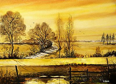 Sunset Fields Original