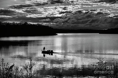 Photograph - Sunset Fisherman 2 by Dennis Hedberg