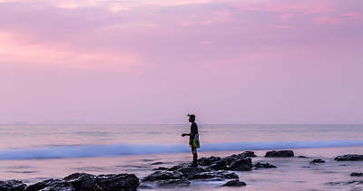 Photograph - Sunset Fishing In Lanta by Georgia Fowler