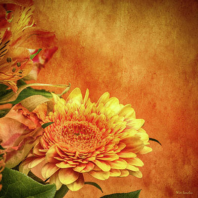 Photograph - Sunset Flowers by Wim Lanclus