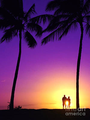 Photograph - Sunset For Two by Russell Rebelo
