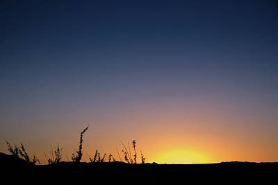 Sunset Fort Mohave Az Art Print