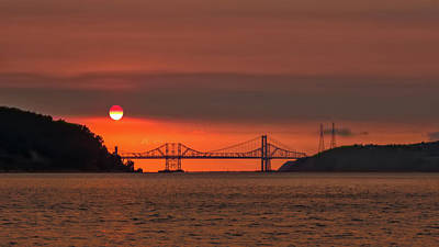 Photograph - Sunset From Benicia by Laura Macky
