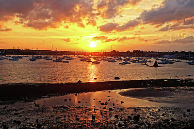 Photograph - Sunset From Dead Horse Beach Salem Ma by Toby McGuire