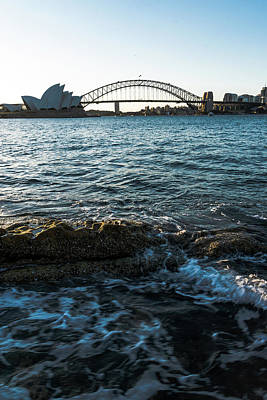 Photograph - Sunset From Mrs Macquarie's Point by Steven Richman