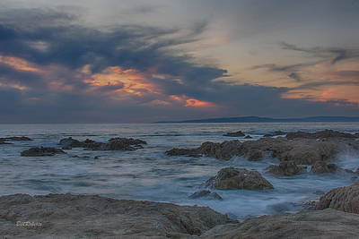 Pacific Grove Photograph - Sunset From Pacific Grove by Bill Roberts