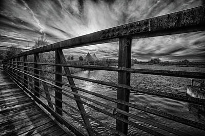 Photograph - Sunset From The Bridge by John Hoey