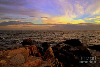 Photograph - Sunset From The Point by Lennie Malvone