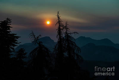 Photograph - Sunset From Zupjok Ridge by Rod Wiens