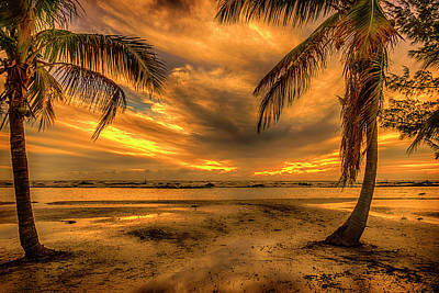 Photograph - Sunset Ft Myers Florida Dsc01033_16 by Greg Kluempers
