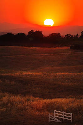 Photograph - Sunset Gate by Jill Reger