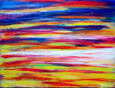 Painting - Sunset by Gina Nicolae Johnson