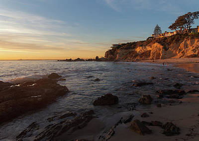 Photograph - Sunset Glow At Corona Del Mar by Cliff Wassmann