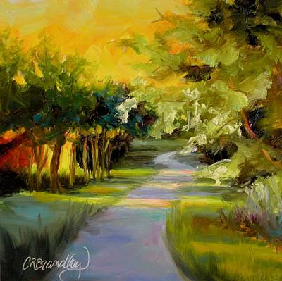Painting - Sunset Glow by Chris Brandley