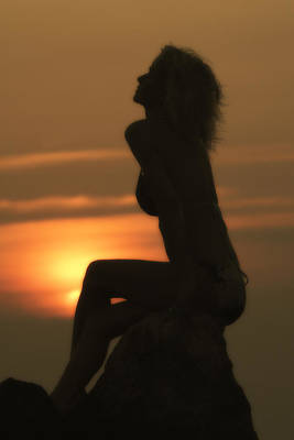 Swimsuit Photograph - Sunset Goddess by Christopher Purcell