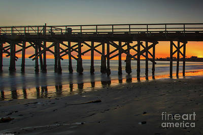 Photograph - Sunset Goleta  by Mitch Shindelbower