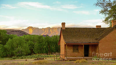 Photograph - Sunset Grafton Ghost Town by Wendy Fielding