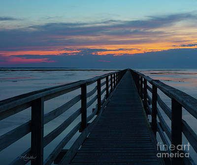 Photograph - Sunset Grays Beach Cape Cod by Michelle Constantine