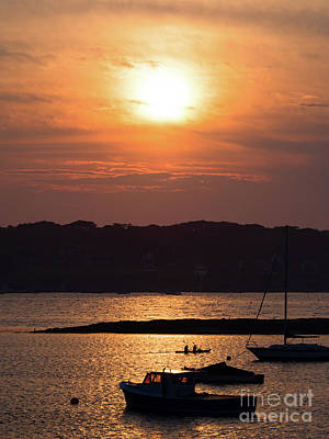 Photograph - Sunset, Harpswell, Maine #20052 by John Bald