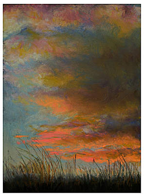 Painting - Sunset Hill by Susan Jenkins