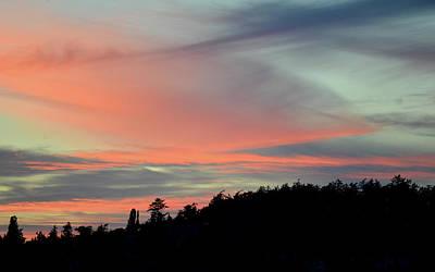 Photograph - Sunset Home 3 by Ronda Broatch