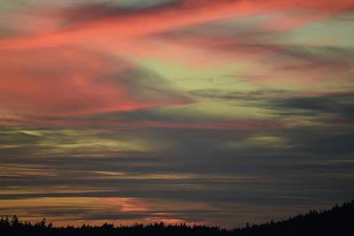 Photograph - Sunset Home by Ronda Broatch
