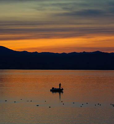 Mohave Az Photograph - Sunset Hooker by Debra Farrey