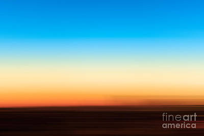 Abstract Landscape Royalty-Free and Rights-Managed Images - Sunset horizon 1 by Delphimages Photo Creations