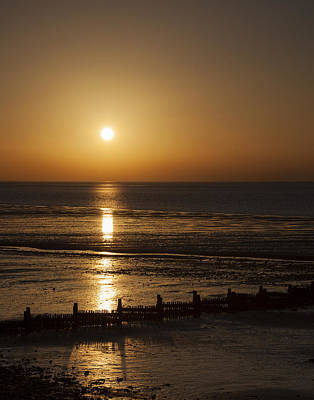 Photograph - Sunset Hunstanton by Gillian Dernie