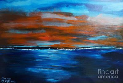 Thomas Kinkade - Sunset II by Jimmy Clark