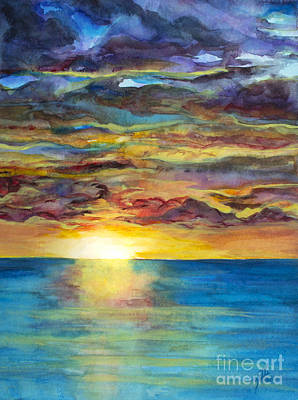 Painting - Sunset II by Suzette Kallen