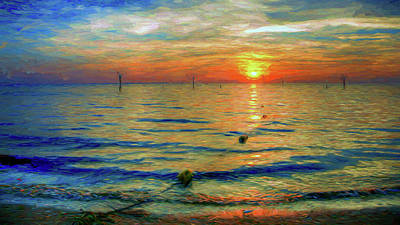 Sunset Impressions Art Print