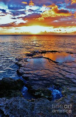 Photograph - Sunset In A Tide Pool II by Craig Wood