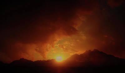 Photograph - Sunset In Africa 4 by Johanna Hurmerinta