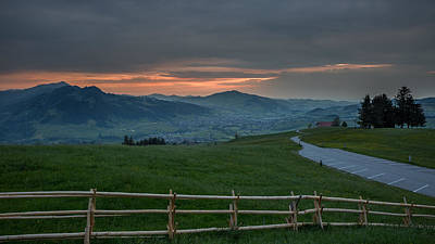 Photograph - Sunset In Appenzell by Andreas Levi